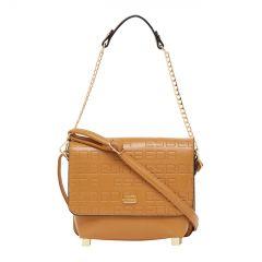 ESBEDA Pu Synthetic Yellow Slingbag For Womens_1682