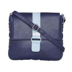 ESBEDA Dark Blue Color Solid Drymilk Slingbag For Women-1724