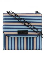 ESBEDA Multicolor Striped PU Synthetic Slingbag For Women(Code-3421)