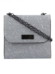 ESBEDA Grey Printed PU Synthetic Slingbag For Women(Code-3433)