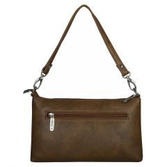 ESBEDA Drymilk Brown PU Synthetic Slingbag For Women Brown
