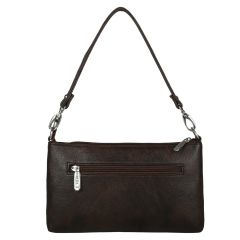 ESBEDA Drymilk Brown PU Synthetic Slingbag For Women's Brown