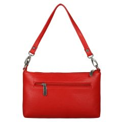 ESBEDA Drymilk Red PU Synthetic Slingbag For Women's Red