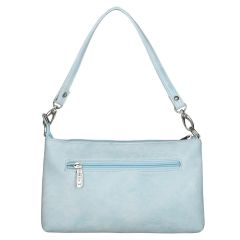 ESBEDA Drymilk Light Blue PU Synthetic Slingbag For Women's Light Blue