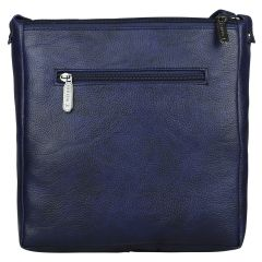 ESBEDA Drymilk Dark Blue PU Synthetic Slingbag For Women's Dark Blue
