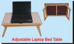 Roger & Moris Wooden Laptop Table, Bed Table, E Table, Foldable  24""