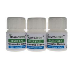 Homyoxpert Hair Fall Homeopathic Medicine For One Month