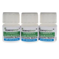 Homyoxpert Pyorrhea (Gums Bleeding) Homeopathic Medicine For One Month