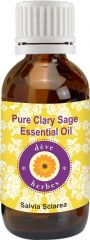 Pure Clary Sage Essential Oil (10ml)- Salvia Sclarea