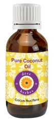 Pure Coconut Oil 100ml - Cocus Nucifera