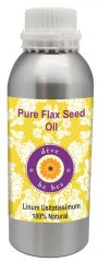 Pure Flax Seed Oil 630ml - Linum usitatissimum  100% Natural Cold pressed