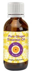 Pure Ginger Essential Oil - Zingiber Officinalis