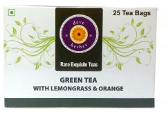 Green Tea with Lemongrass & Orange - 30 Tea Bags (incl 5 extra)