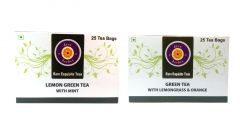 lemon green tea with mint   Green Tea with Lemongrass & Orange 50 tea bags