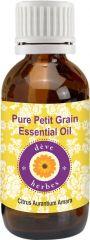 Pure Petit Grain Essential Oil - Citrus Aurantium Amara