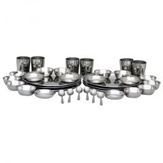 Deemark 36 Pcs Stainless Steel Dinner Set