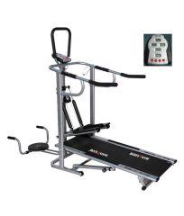 Deemark EZ Track 4 In 1 Manual Treadmill