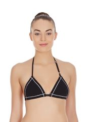 La Intimo - Triangle Non Padded  Bra  In Black-(Product Code-LIBRGS002BK0)