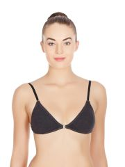 La Intimo - Tough Girl Bra In Charcoal-(Product Code-LIBRTH023CL0)
