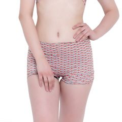 Multi (Digital Prints) La Intimo Punk Life Shorts Resort/Beach Wear - ( Code -LIFPY011ZF0_L) L, Multi (Digital Prints)
