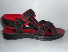 Shop or Gift Men Light weight sandals in Red and Black Online.