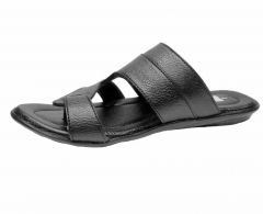 Shop or Gift Fsestilo Leather Black sandals for Men Online.
