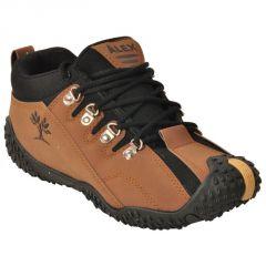 Alex Brown & Black Sports/running/gym Shoe For Men's.