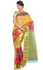 Silk Sarees - Sudarshan Silks Multicolor Jacquard Saree ( DUS1664 )