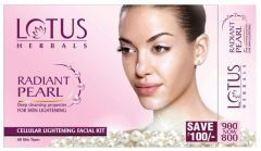 Lotus Herbals Personal Care & Beauty - Lotus Herbals Radiant Pearl Cellular Lightening Facial Kit