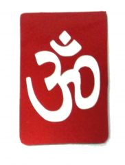 OM URJA SYMBOL IN HIGH QUALITY MAGNETIC STICKER