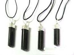 Black Tourmaline Pendant (Crystal Healing) Pyramids Fengshui Vastu