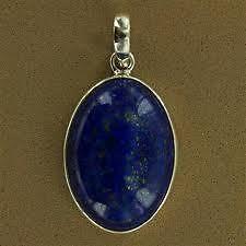 Lapis Lazuli Pendant Round Shape (Crystal Healing) Crystals Fengshui Vastu