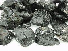 Black Tourmaline Rough Stone (Crystal Healing) Fengshui Vastu