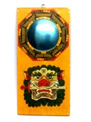 KUAN KUNG BAGUA MIRROR FOR GOOD FORTUNE AND EVIL EYE SAFTY