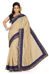 De Marca Chikoo Bhagalpuri Silk Saree - 158