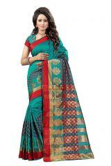 De Marca Rama Colour Tussar - Silk Saree (Product Code - 369-111)