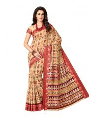 De Marca Multicolor Cotton Saree (Code - Cry6525)