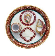 Best Marble Puja Thali - By Product