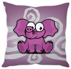 Stybuzz Cute Elephant Cushion Cover