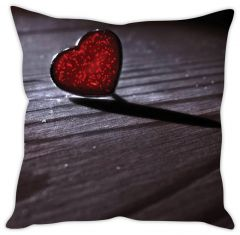 Stybuzz Crystal Heart Cushion Cover