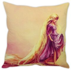 Stybuzz Rapunzel Artistic Cushion Cover