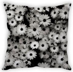 Stybuzz White Daisies Cushion Cover