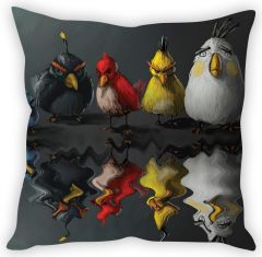 Stybuzz Rowdy Birds Cushion Cover