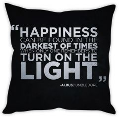 Stybuzz Harry Potter Quote Cushion Cover