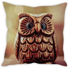 Stybuzz Metal Owl Cushion Cover