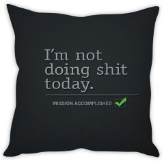 Stybuzz Attitude Quote Cushion Cover