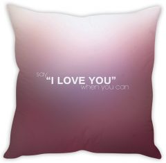 Stybuzz Love Quote Cushion Cover