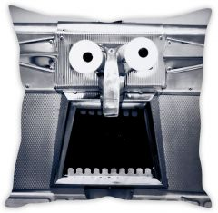 Stybuzz Shocking Face Cushion Cover