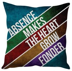 Stybuzz Heart Quote Cushion Cover