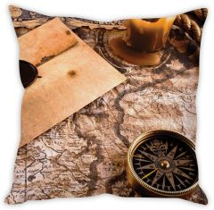 Stybuzz The Map Cushion Cover